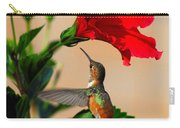 Delightful Hummer Carry-all Pouch