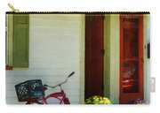 Delivery Bicycle By Two Red Doors Carry-all Pouch