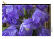Delphinium And Butterfly Carry-all Pouch