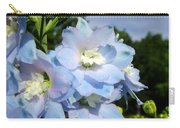 Delphinium With Cloud Carry-all Pouch