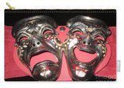Masques / Tragedy/comedy Masks Carry-all Pouch