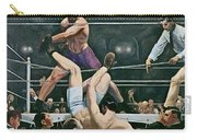 Dempsey V Firpo In New York City Carry-all Pouch