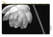 Demure Lotus Carry-all Pouch