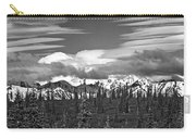 Denali In Clouds Carry-all Pouch