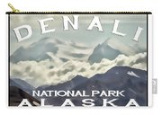 Denali Postage Stamp  Carry-all Pouch