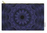Denim Blues Mandala - Digital Painting Effect Carry-all Pouch