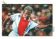 Dennis Bergkamp 2 Carry-all Pouch by Paul Meijering