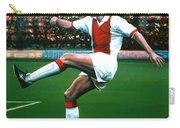 Dennis Bergkamp Ajax Carry-all Pouch by Paul Meijering