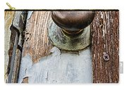 Dented Doorknob Carry-all Pouch by Caitlyn  Grasso