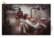 Dentist - Waiting For The Dentist Carry-all Pouch by Mike Savad