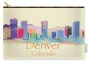 Denver Colorado Skyline II Carry-all Pouch