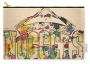 Denver Nuggets Poster Art Carry-all Pouch