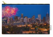 Denver Skyline Fireworks Carry-all Pouch