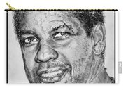 Denzel Washington In 2009 Carry-all Pouch by J McCombie