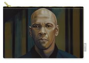 Denzel Washington In The Equalizer Painting Carry-all Pouch