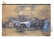 Departure For Christmas Oil On Canvas Carry-all Pouch