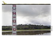 Depth Measuring Stick Lake Lagunita Stanford University Carry-all Pouch
