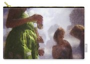Derby People 1 Water Color 1 Carry-all Pouch