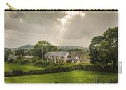 Derbyshire Cottages Carry-all Pouch by Amanda Elwell