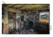 Derelict Cottage Carry-all Pouch by Adrian Evans