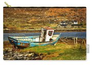 Derelict Fishing Boat On The Irish Coast Carry-all Pouch