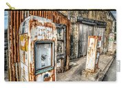 Derelict Gas Station Carry-all Pouch by Adrian Evans