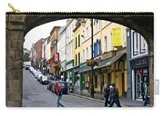 Derry Life - Irish Art By Charlie Brock Carry-all Pouch