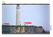 Des-rosiers Lighthouse Is Canada's Tallest In Forillon Np-qc Carry-all Pouch