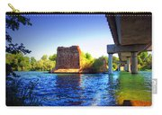 Deschutes Bridge  Anderson Ca  Watercolor   Carry-all Pouch