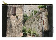 Desert Alley In San Gimignano Carry-all Pouch