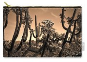 Desert At Dusk Carry-all Pouch