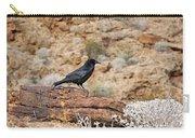 Jet Black Desert Dweller Carry-all Pouch