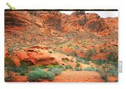 Desert Hiking Among The Sandstones Carry-all Pouch