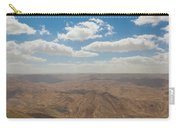 Desert Landscape By The Tannur Dam Carry-all Pouch