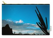 Desert Landscape Silhouette Carry-all Pouch