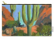 Desert Morning Saguaro Carry-all Pouch