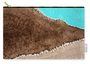Desert Mountains Original Painting Carry-all Pouch