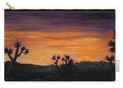 Desert Night Carry-all Pouch by Anastasiya Malakhova
