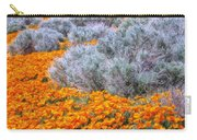 Desert Poppies And Sage Carry-all Pouch