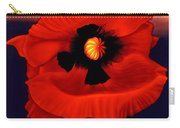 Desert Poppy Carry-all Pouch