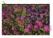 Desert Sand Verbena Wildflowers Carry-all Pouch