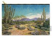 Desert Scene Near Carefree Carry-all Pouch