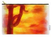 Desert Sunset Photo Art 01 Carry-all Pouch