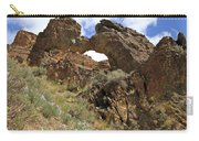 Desert Wildflowers Grand Arch  Carry-all Pouch