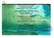Desiderata 2 - Words Of Wisdom Carry-all Pouch