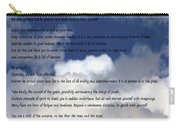 Desiderata On Sky Scene With Full Moon And Clouds Carry-all Pouch