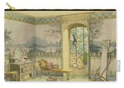 Design For A Bathroom, From Interieurs Carry-all Pouch