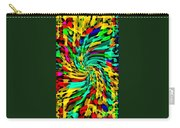 Designer Phone Case Art Colorful Rich And Bold Abstracts Cell Phone Covers Carole Spandau Cbs Art136 Carry-all Pouch by Carole Spandau