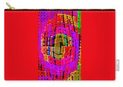Designer Phone Case Art Colorful Rich Bold Abstracts Cell Phone Covers Carole Spandau Cbs Art 138 Carry-all Pouch