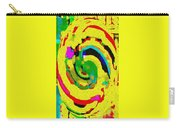Designer Phone Case Art Colorful Rich Bold Abstracts Cell Phone Covers Carole Spandau Cbs Art 139  Carry-all Pouch by Carole Spandau